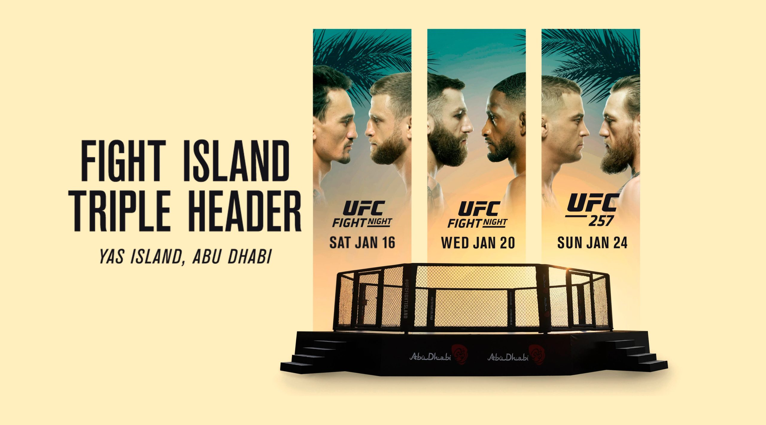 UFC Fight Island Triple Header: Main Event Picks
