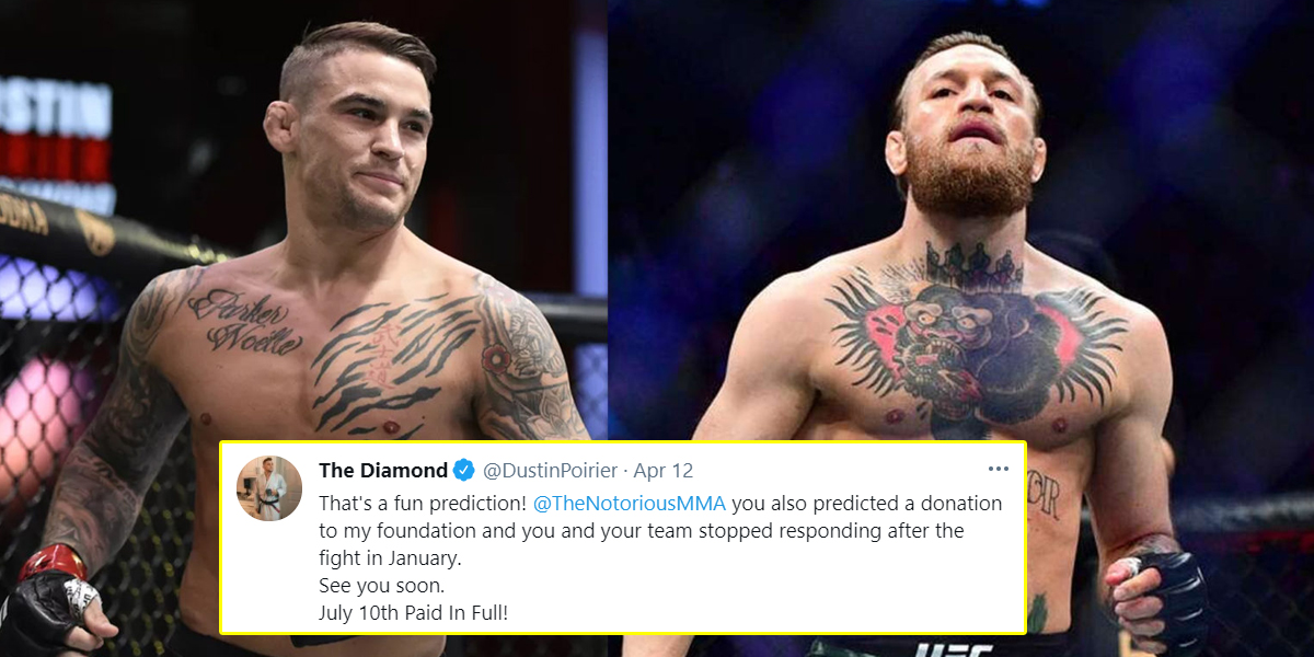 5 Takeaways From Poirier and McGregor's Twitter Spat
